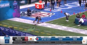 Longhorns NFL Combine Complete Results: Duvernay, Johnson, Jones, Roach