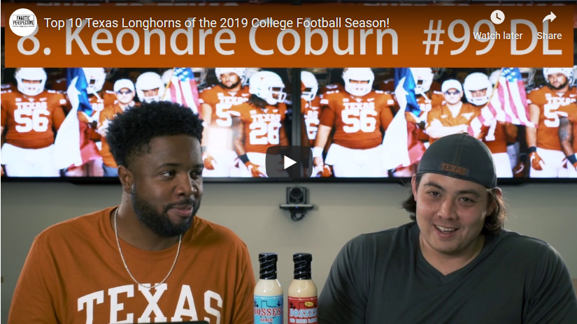 Top 10 Texas Longhorns of 2019 – Fanatic Perspective