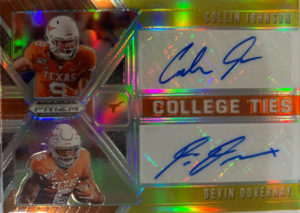 Check Out the First Collin Johnson, Devin Duvernay Cards
