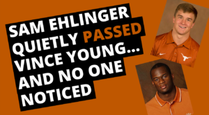 Sam Ehlinger Quietly Passed Vince Young, and No One Noticed