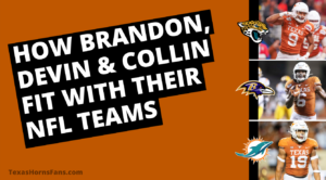 Longhorns NFL Draft Collin Johnson, Brandon Jones, Devin Duvernay