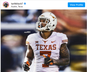 Michigan WR Tarik Black Transferring to Texas
