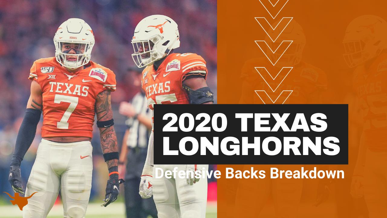 2020 Texas Longhorns Position Preview: Defensive Backs