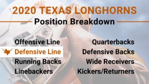 2020 Texas Longhorns Defensive Line Preview