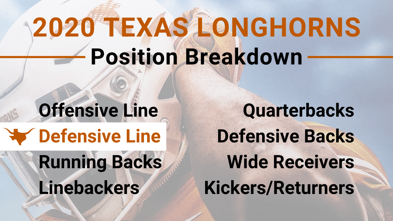 2020 Texas Longhorns Defensive Line Preview