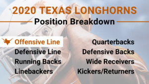 2020 Texas Longhorns Position Preview Offensive Line