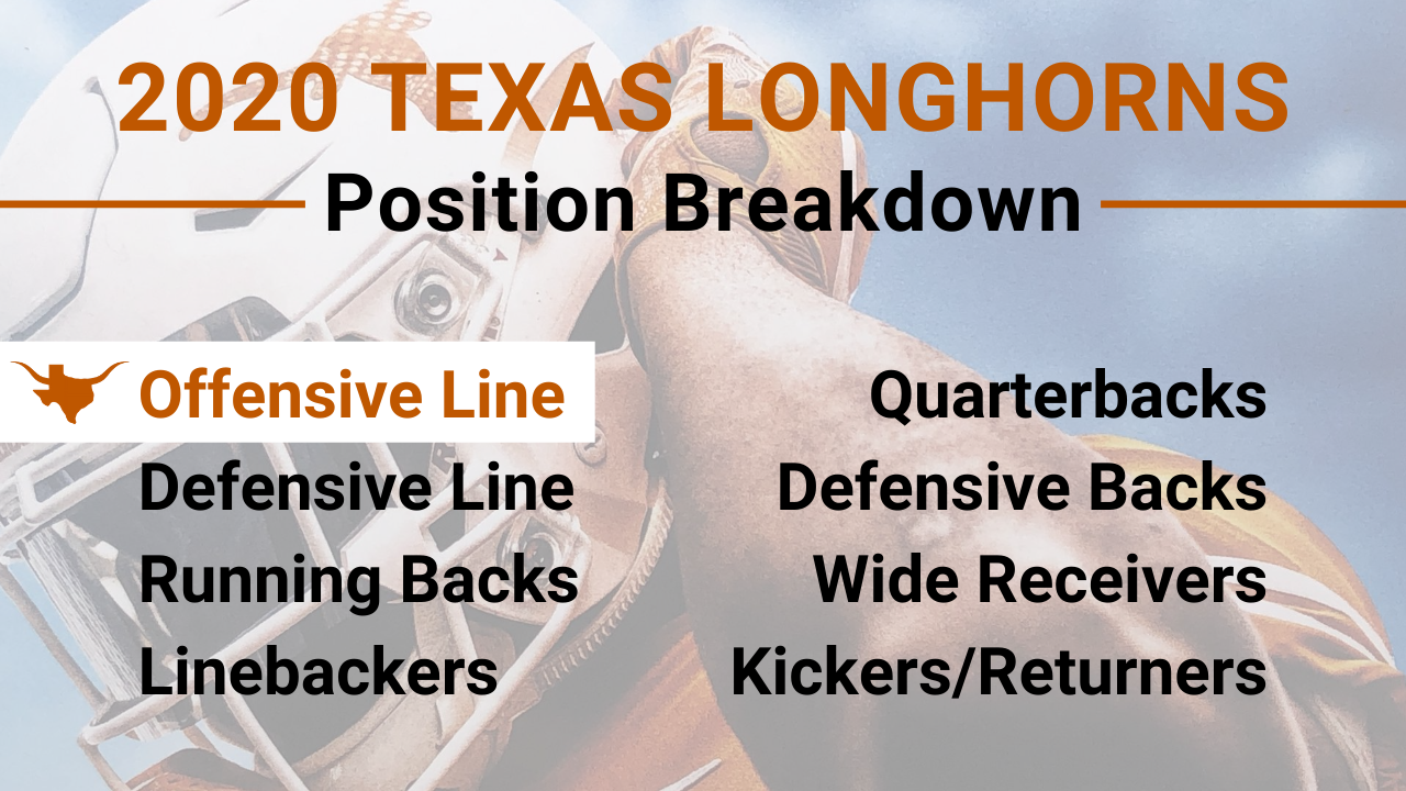 2020 Texas Longhorns Position Preview: Offensive Line