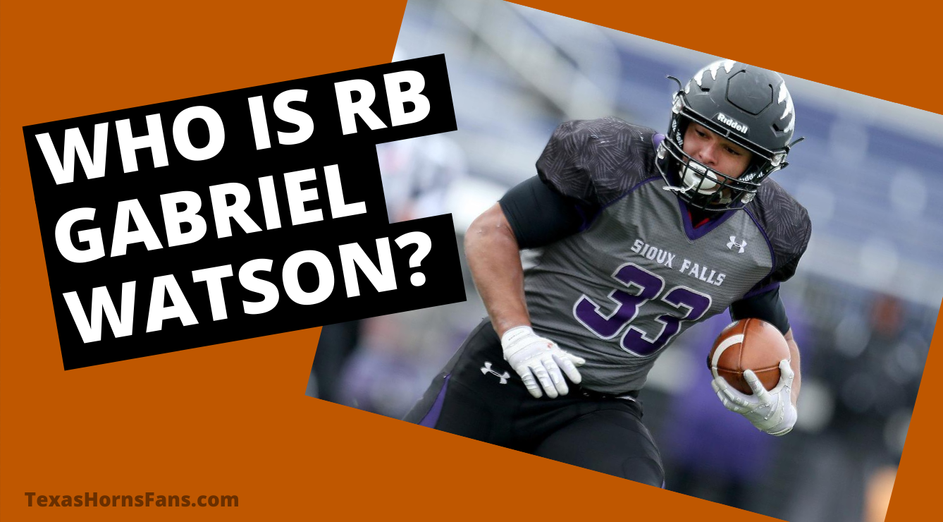 Who is RB Gabriel Watson? Get to Know the Grad Transfer