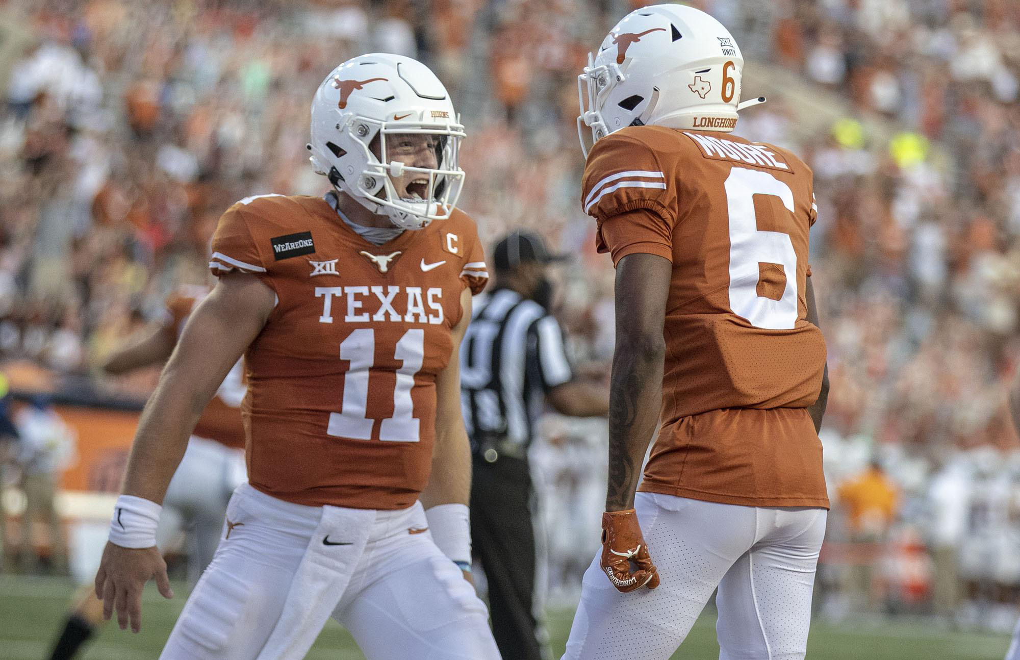 Longhorns Depth Chart Released for Texas Tech