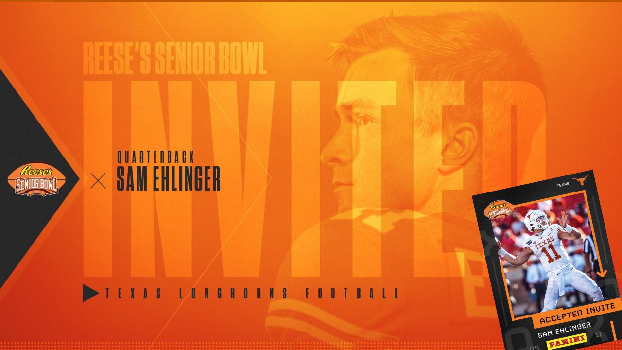 BREAKING: Longhorns QB Sam Ehlinger Accepts Senior Bowl Invite