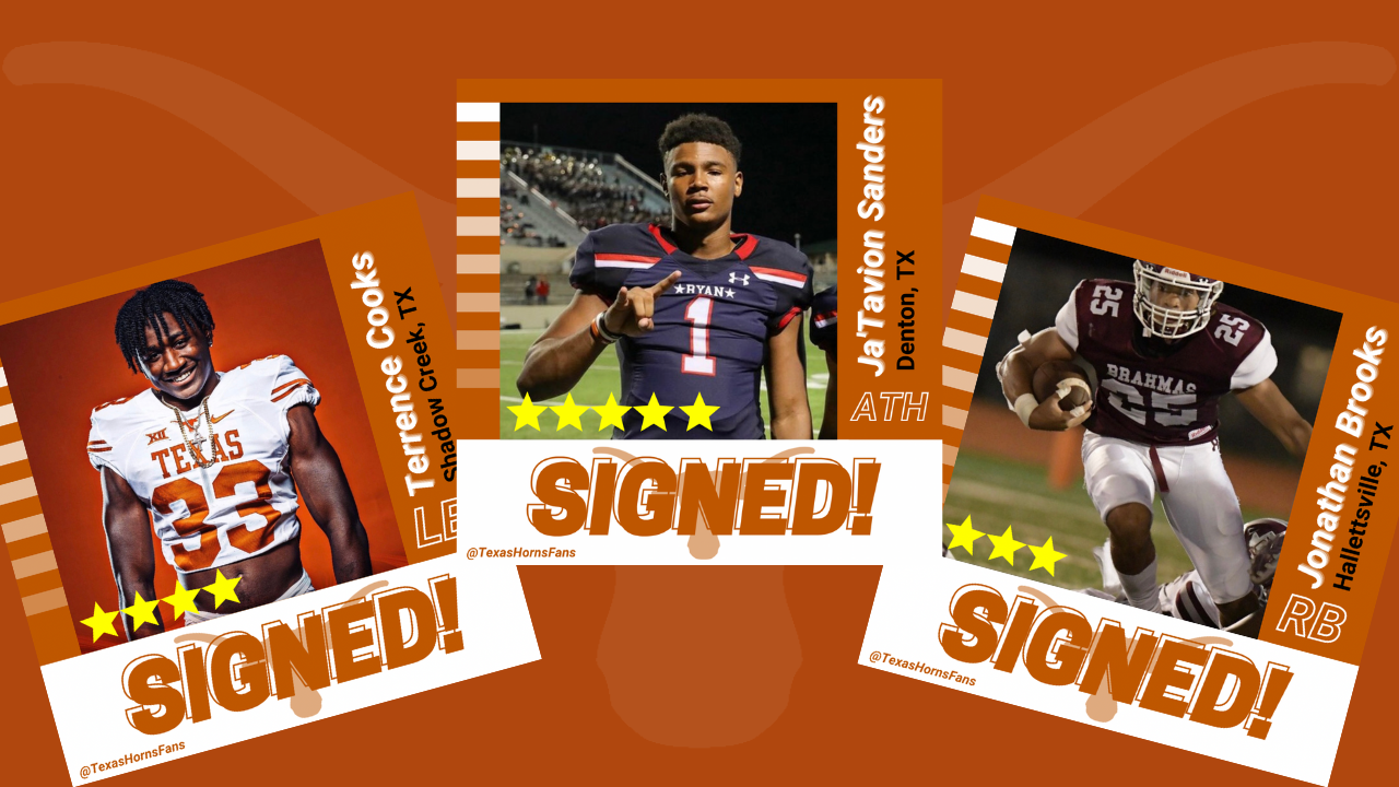 Longhorns Early Signing Day Update 2021