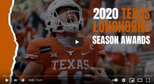 Texas Longhorns 2020 Season Awards
