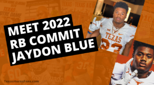 Longhorns RB Commit Jaydon Blue