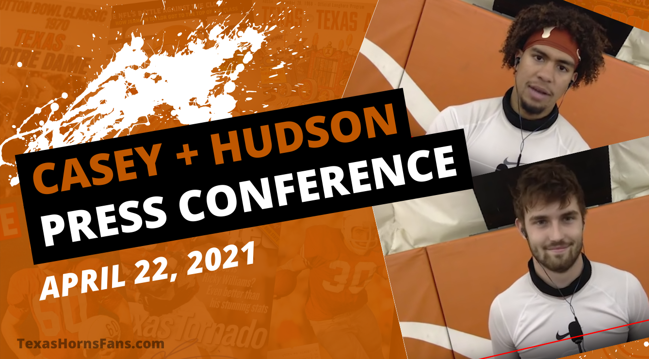 WATCH: Casey Thompson and Hudson Card QB Press Conference