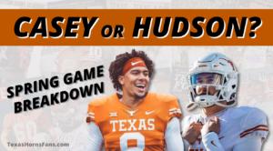 Casey Thompson vs. Hudson Card: Spring Game Breakdown