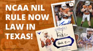 NCAA NIL Rule Law in Texas